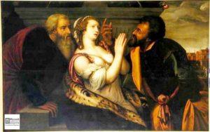 западно-европейское искусство, сусанна и старцы