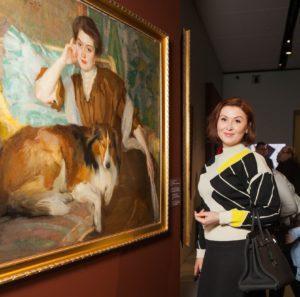 браз, портрет жены, русское искусство