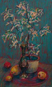 Ольга Бахилина, цветы, натюрморт