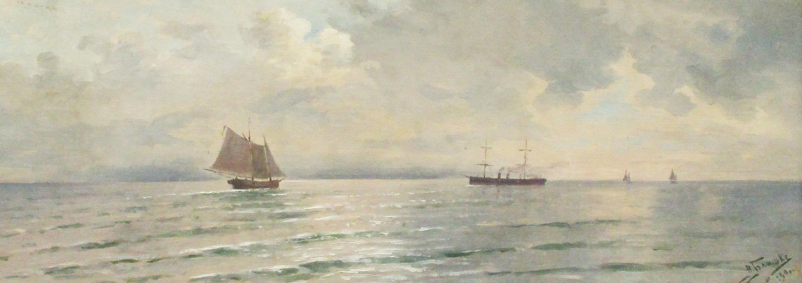 Картина Анна Блашке горизонт