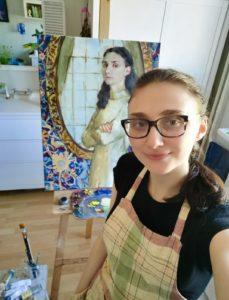 Ольга Бахилина, автопортрет