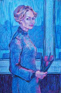 Ольга Бахилина, портрет, девушка