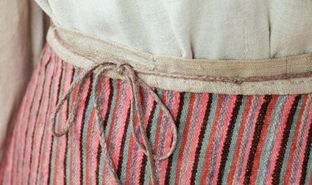 Из музейных коллекций: женский рабочий костюм с карельской юбкой. XIX-начало XX века