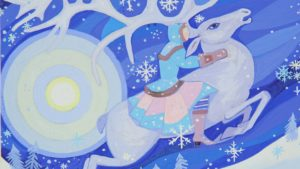 юфа, снежная королева