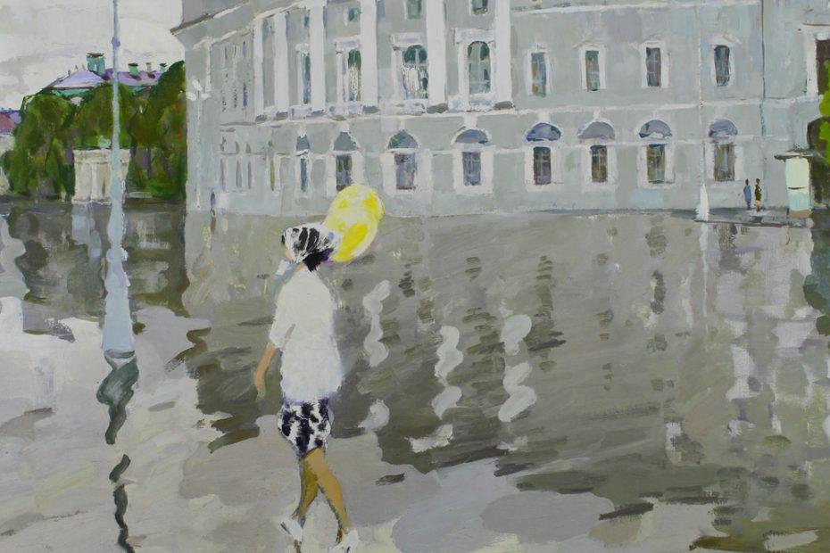 корнеев, мокрое утро, отечественное искусство