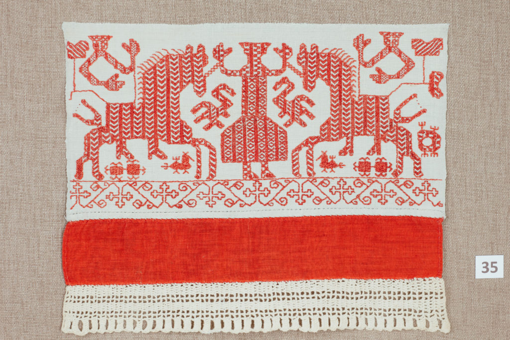 ПР-805 Конец полотенца. К.XIX-нач.XXвв. Пудожье