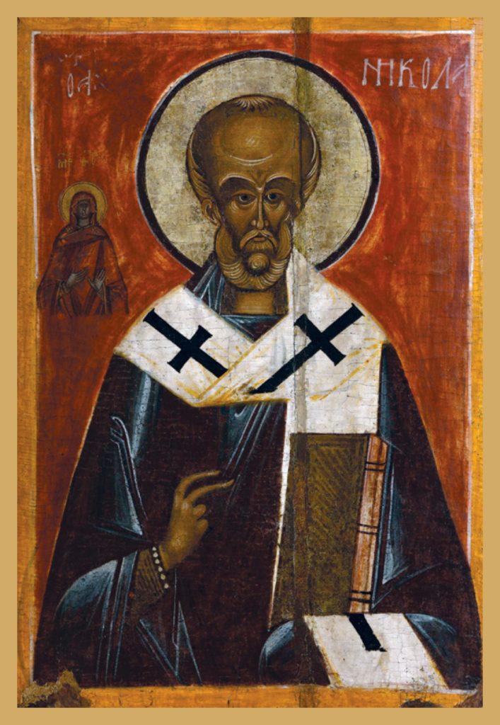 Святой Никола 15в