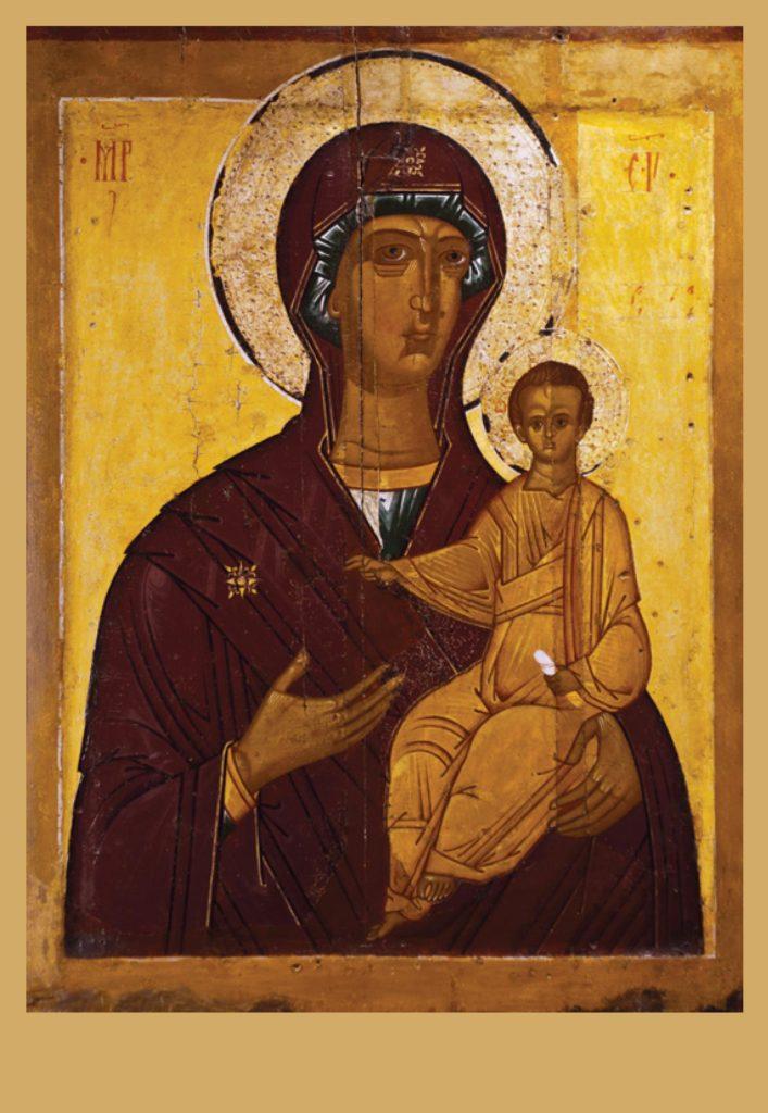 Богоматреь Одигитрия Смоленская
