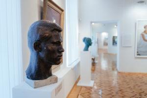 карельское искусство, залы музея, ланкинен, попов